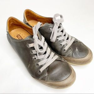 Pikolinos Gray Leather Sneakers size 37